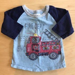 Mud pie long sleeve t shirt 12-18 months